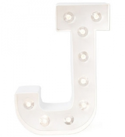 "Lichtletter ""J"""