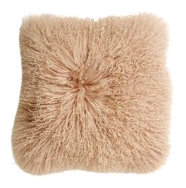 """Kussen """"Fur"""" soft pink"""