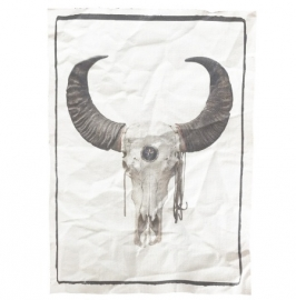 "A5 Canvas print ""Skull"""
