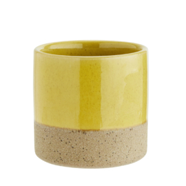 "Pot ""Two Tone"" geel"