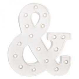 """Light letter """"&"""" XL"""