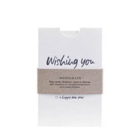 "Cadeau envelop ""Wishing you"""