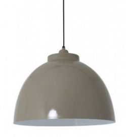 "Pendant light ""Kylie"" taupe"