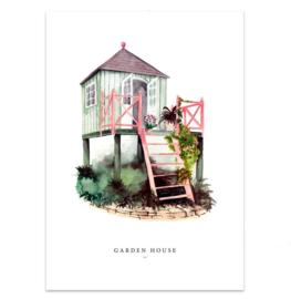 """Kaart """"Garden house"""""""