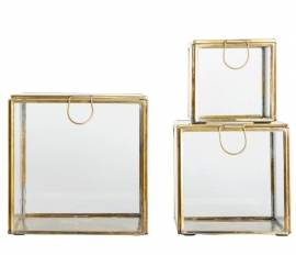 "Box ""Display"" brass"