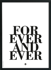 """Poster """"Dreams & Forever"""""""
