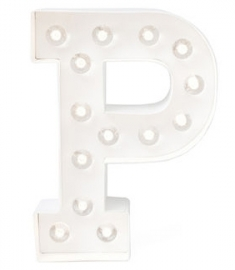 "Lichtletter ""P"""