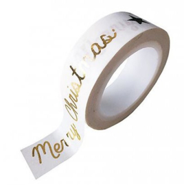 "Masking tape ""Merry christmas"""