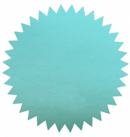"Stickers ""Starburst"" mint"