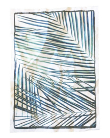 "Canvas print ""Palm leaves"""