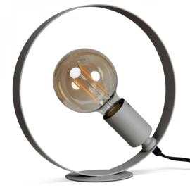 """Tafellamp """"Circle"""" grijs"""