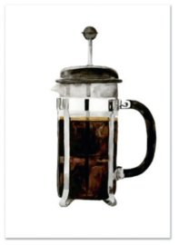 "Kaart ""French press"""
