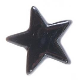 "Knob ""Star"" black"