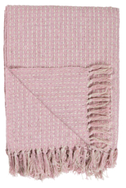 "Ib Laursen plaid ""Pattern"" pink"