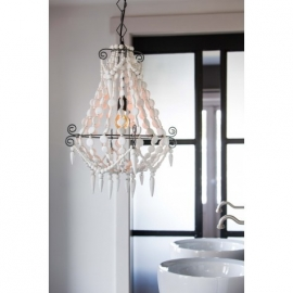 "Pendant light ""Luca"" white"