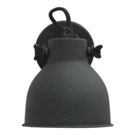 "Wandlamp ""Industrial L"" Black"