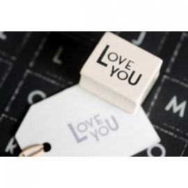 "Stamp ""Love you"""