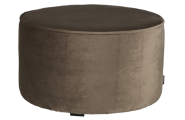 "Hocker ""Sara"" medium olijfgoud"