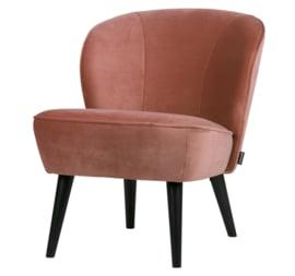 "Woood fauteuil ""Sara"" oudroze"