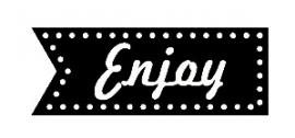"Stempel ""Enjoy"""