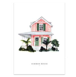"""Kaart """"Summer house"""""""