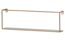 """Wandplank """"Meert"""" 50cm goud"""
