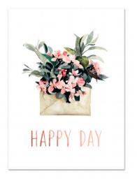 """Kaart """"Happy day"""""""