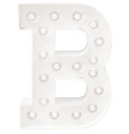 """Light letter """"B"""""""