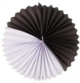 """Lampion """"Paper"""" zwart"""