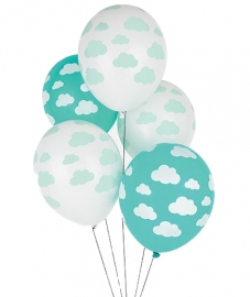 "Ballonnen ""Wolkjes"""