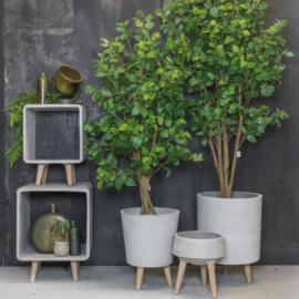 "Plantenstandaard ""Concrete"""
