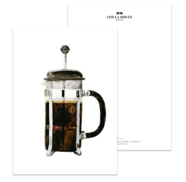 """Kaart """"French press"""""""