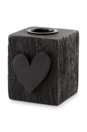 """Kandelaar """"Block heart"""""""