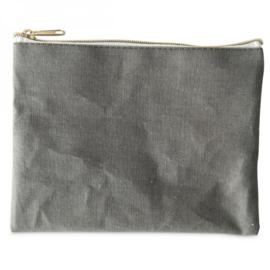 """Etui """"Fabric"""" grijs"""