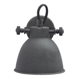 "Wandlamp ""Industrial"" Black"