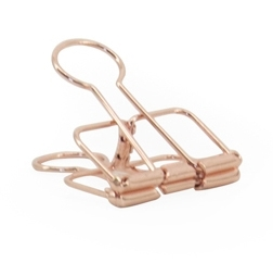 "Binder clip ""Copper"""