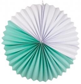 """Lampion """"Paper"""" mint"""