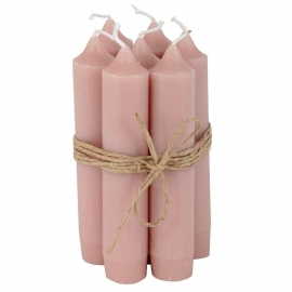 "Candle ""Faded pink"""