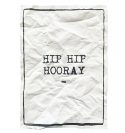 "Canvas print ""Hip hip hooray"""