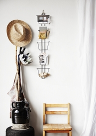 "Postcard rack ""Black"""