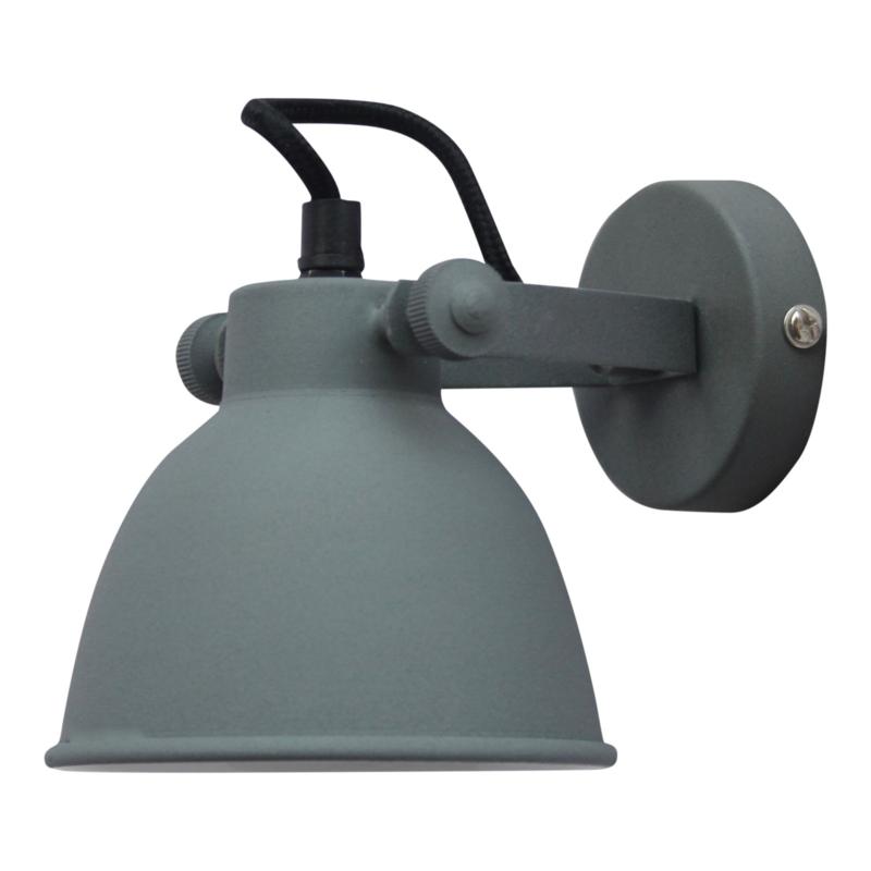 """Wandlamp """"Industrial"""" Grey"""