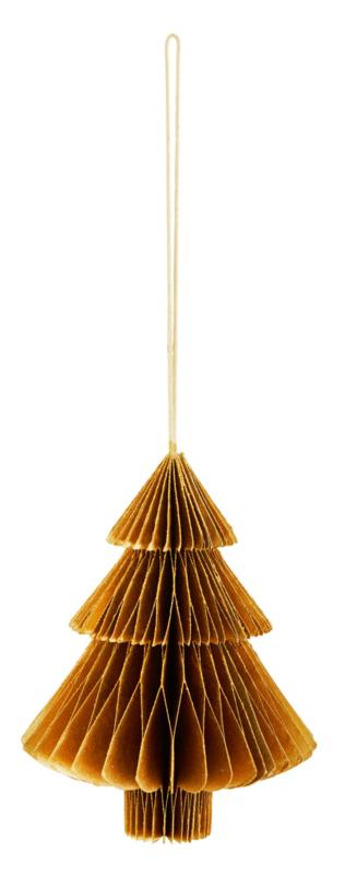 """Hanger """"Kerstboom"""" goud"""