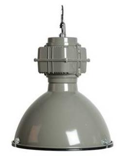 """Hanglamp """"Industrial"""" grijs"""