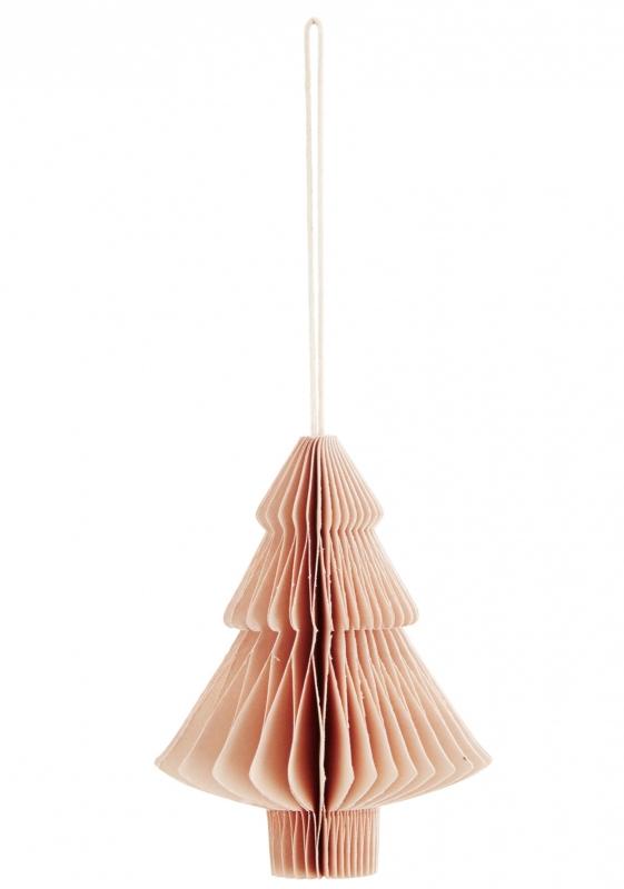 """Hanger """"Kerstboom"""" roze"""