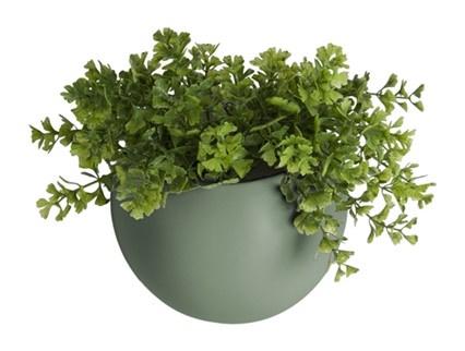 """Wandplantenpot """"Globe"""" groen"""