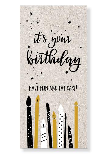 """Kaart """"Birthday"""""""