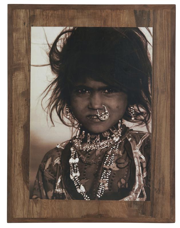 "Houten frame ""Rajasthan"""