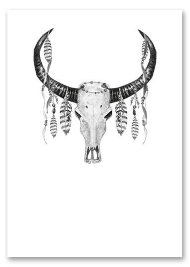 """Poster """"Skull"""""""