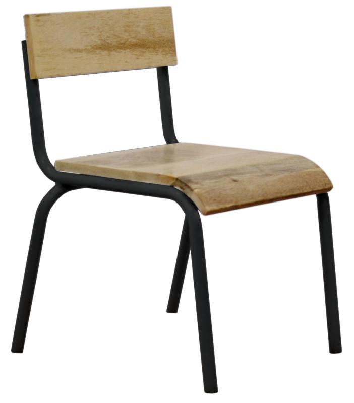 """Kinderstoel """"Original"""" zwart"""