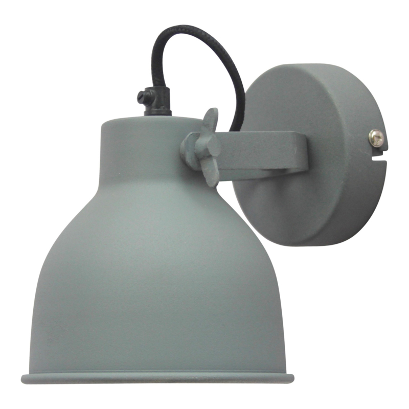 "Wandlamp ""Industrial L"" Grey"